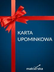 Karta upominkowa maklerska.pl 300 zł