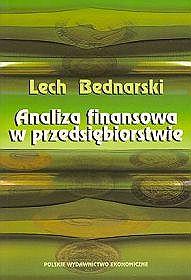 Analiza finansowa w przedsiębiorstwie - Lech Bednarski