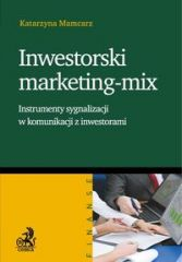 Inwestorski marketing – mix