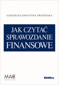 Jak czytać sprawozdanie finansowe
