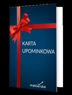 Karta upominkowa maklerska.pl 50 zł