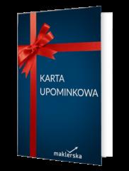 Karta upominkowa maklerska.pl 100 zł