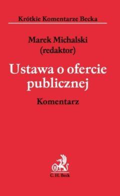 Ustawa o ofercie publicznej. Komentarz