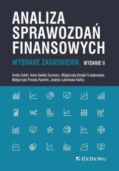 Analiza sprawozdań finansowych. Wybrane zagadnienia