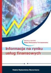 Informacja na rynku usług finansowych