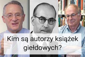 autorzy książek giełdowych