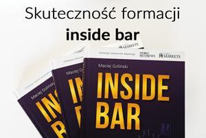 Skuteczność formacji inside bar
